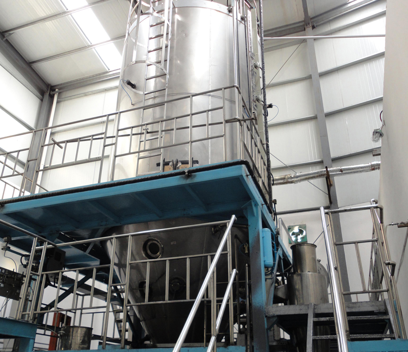 喷雾干燥塔组1 Spray Drying Towers
